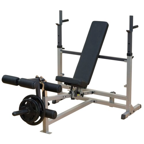 Power Center Combo Adjustable Olympic Bench