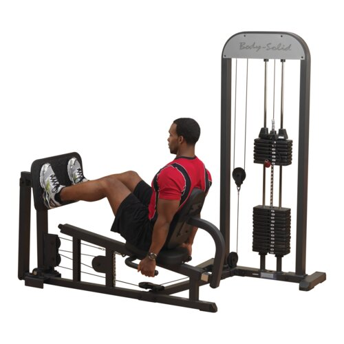 Stand Alone Lower Body Gym with Weight Stack