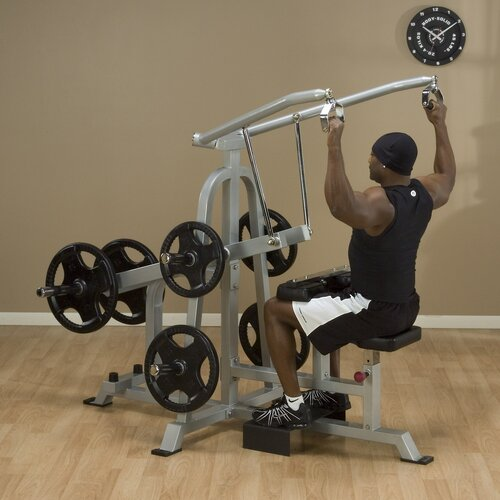 Body Solid Leverage Lat Pulldown Upper Body Gym