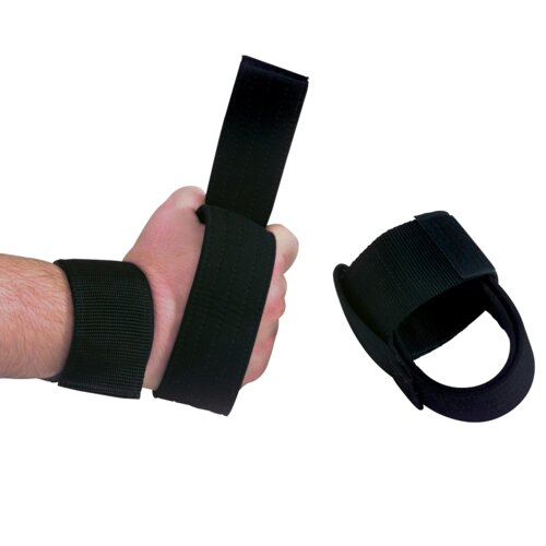 Body Solid Pair Nylon Power Lifting Straps