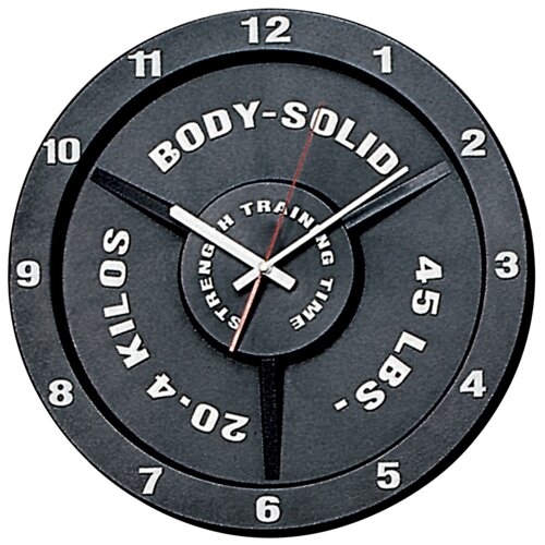 Strength Training Time Wall Clock