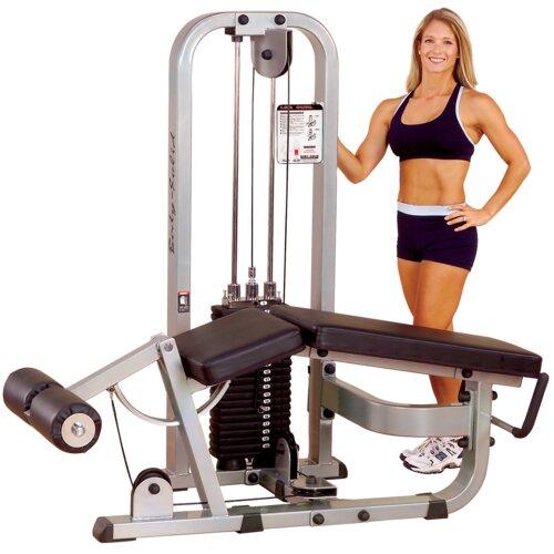 Body Solid Pro Club Line Leg Curl Total Body Gym