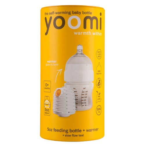 yoomi 5oz Baby Bottle Starter Pack