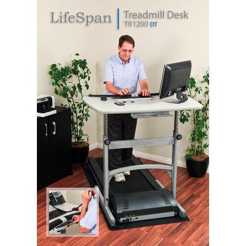 LifeSpan Fitness Treadmill Computer Desktop