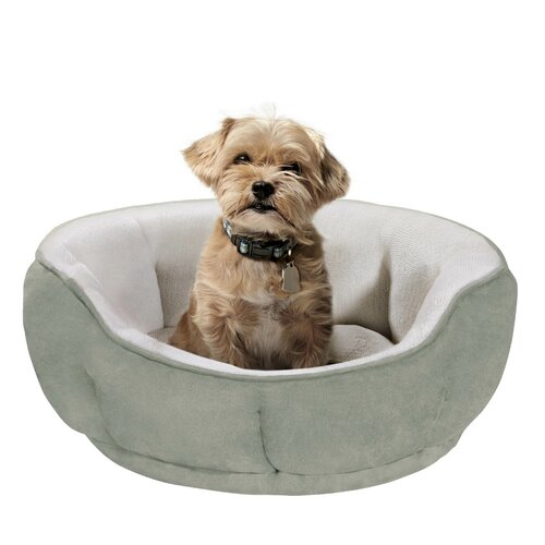 Soft Touch Tufted Euro Cuddler Bolster Dog Bed