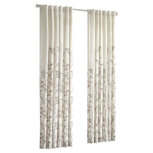 JLA Home Tunisia Rod Pocket Window Curtain Single Panel