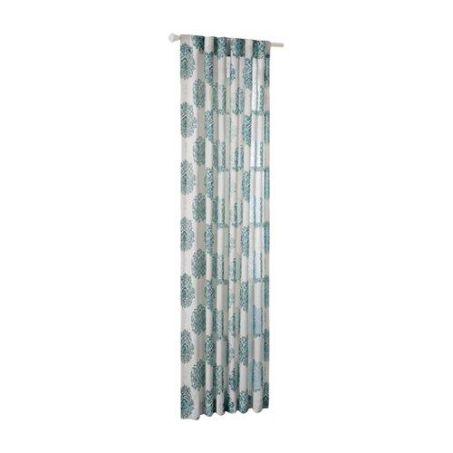 JLA Home Addison Silk Window Curtain Panel