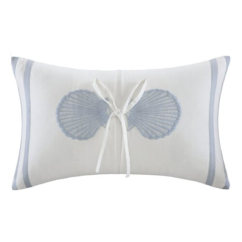 Crystal Beach Cotton Decorative Pillow
