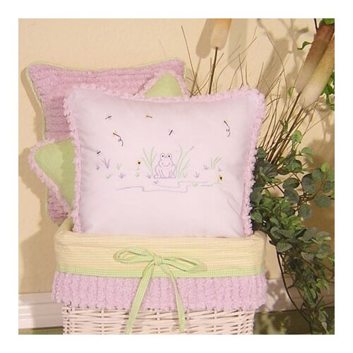Brandee Danielle Froggy Decorator Pillow