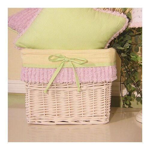 Froggy Lavender Wicker Basket