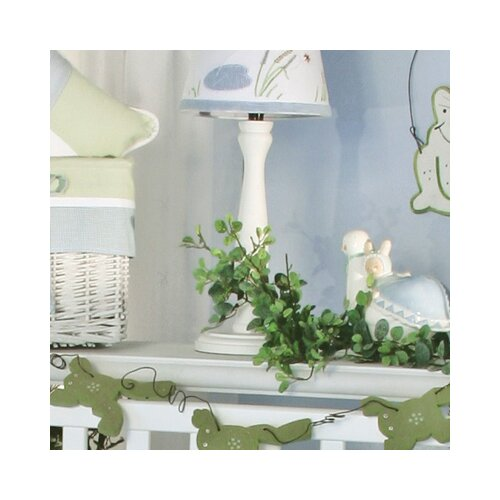 Brandee Danielle One Little Froggy White Candlesitck Lamp