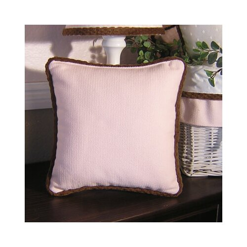 Brandee Danielle Chocolate Pillow