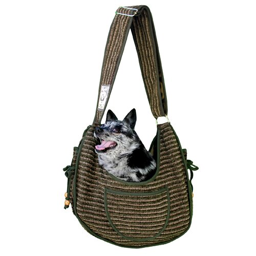 Private Stripe Puppy Pet Carrier