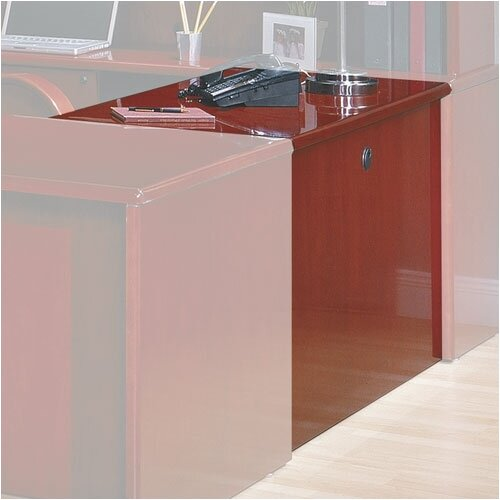 "OSP Furniture Sonoma 29"" H x 36"" W Desk Bridge"
