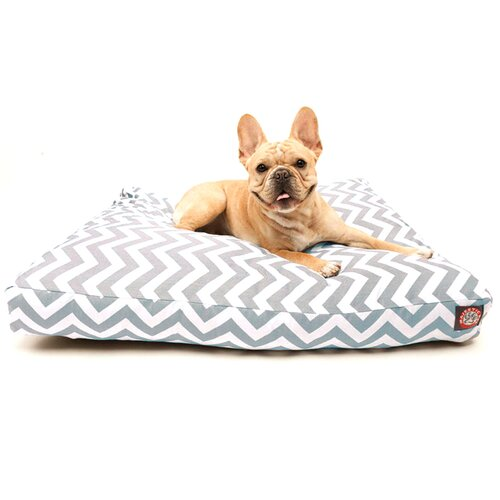 Zig Zag Rectangle Dog Pillow
