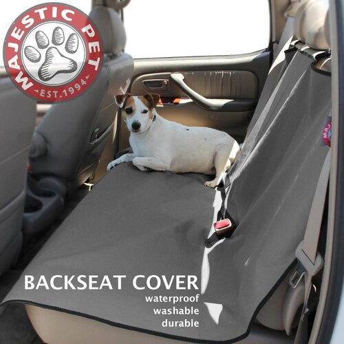 Majestic Pet Products Universal Waterproof Pet Back Seat Cover