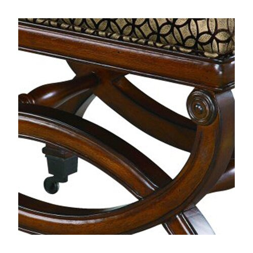 Bailey Street Da Vinci Imported Fabric Bench