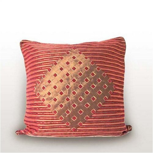 Melrose Home Stripes & Diamonds Pillow Shell