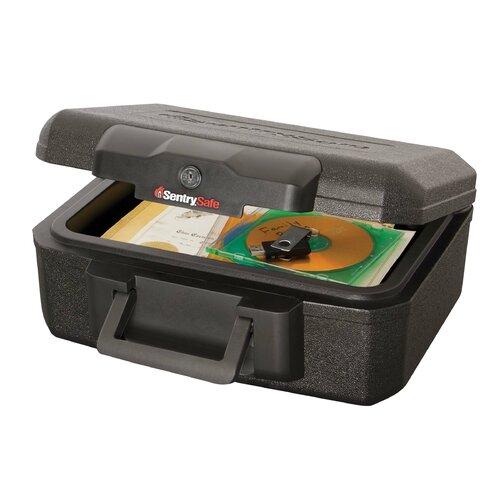Sentry Safe 0.5-Hour Fireproof Key Lock Chest Safe