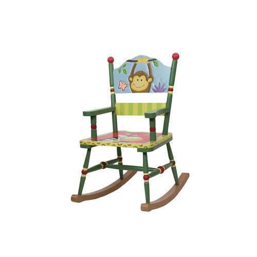 Teamson Design Corp. Sunny Safari Rocking Chair