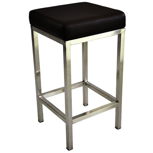 By Designs Quadro 65cm Stool With Stainless Steel Frame