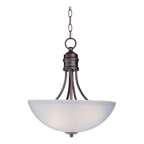 Wildon Home ® Logan 3 Light Bowl Pendant