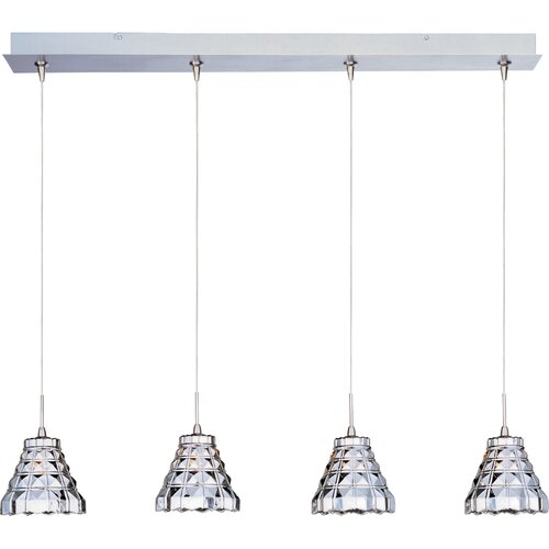 Wildon Home ® Minx 4 Light RapidJack Linear Pendant