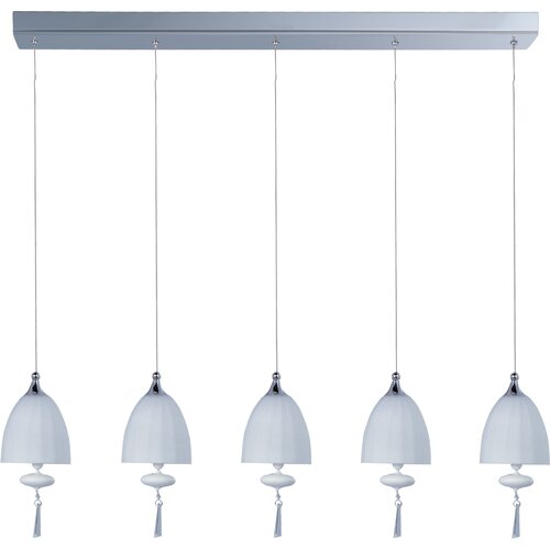 ET2 Chute 5 Light Linear Pendant
