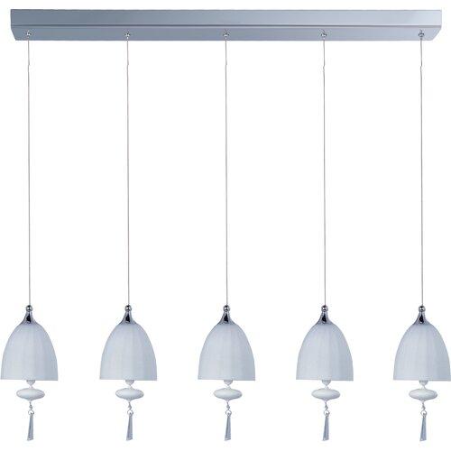 Wildon Home ® Duvtale 5 - Light Linear Pendant