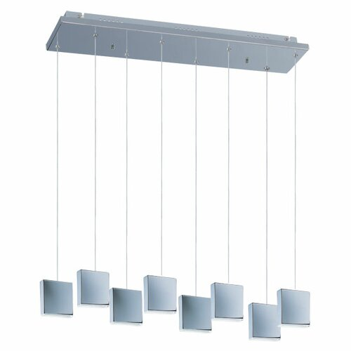 Wildon Home ® Brozook 8 - Light Multi - Light Pendant