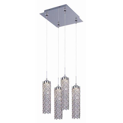 Wildon Home ® Sparkle 4 - Light Multi - Light Pendant