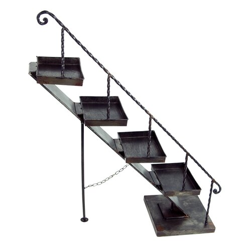 CosyNest Interiors Metal Staircase Shelf