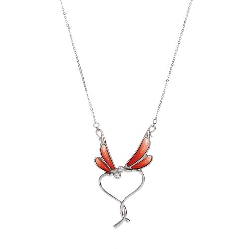 Franz Collection Dragonfly Pendant Necklace