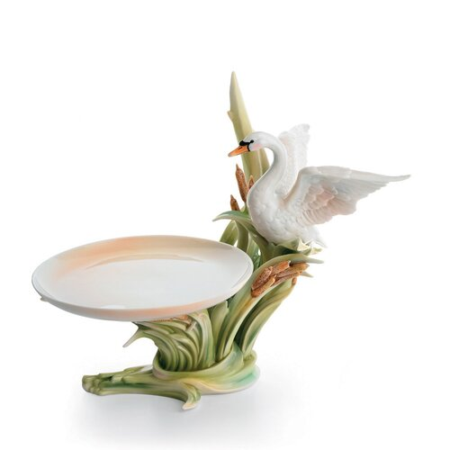 Franz Collection Swan Lake Candy Dish