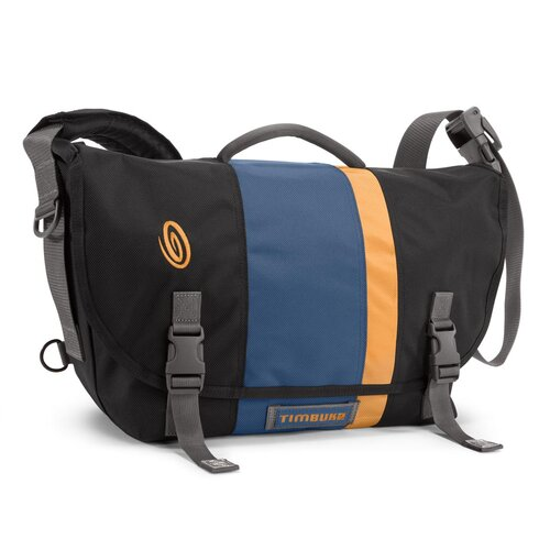 D-Lux Laptop Racing Stripe Messenger Bag