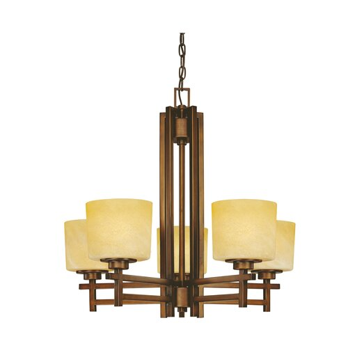Dolan Designs Roxbury 5 Light Chandelier
