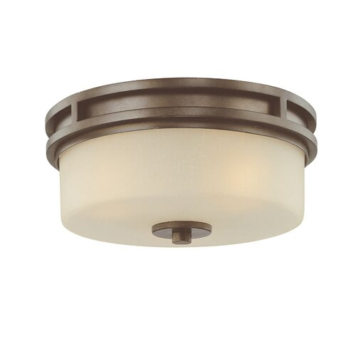 Dolan Designs Multnomah 3 Light Flush Mount
