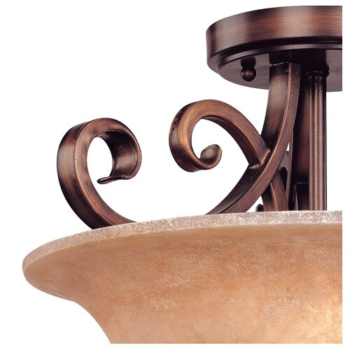 Dolan Designs Medici 2 Light Semi Flush Mount