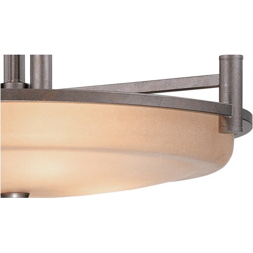 Dolan Designs Cortona 4 Light Drum Pendant