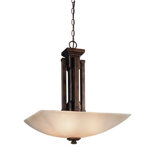 Belltown 4 Light Inverted Pendant