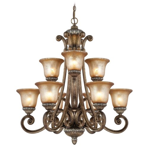 Dolan Designs Carlyle 9 Light Chandelier