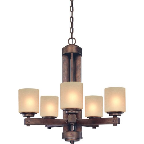 Dolan Designs Sherwood 5 Light Chandelier