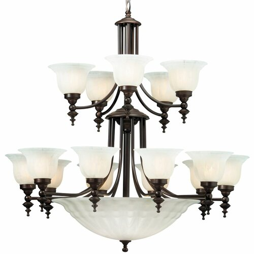 Richland 20 Light Bowl Chandelier