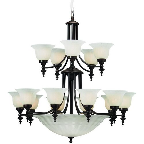 Richland 15 Light Bowl Chandelier
