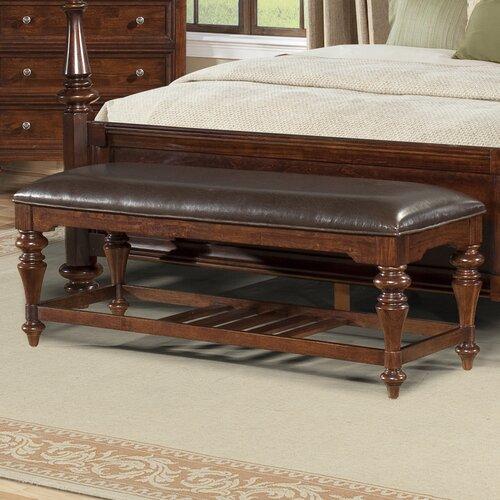 Reedsport Wooden Bedroom Bench