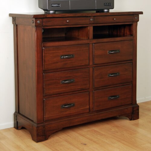 Kalispell 6 Drawer Media Chest