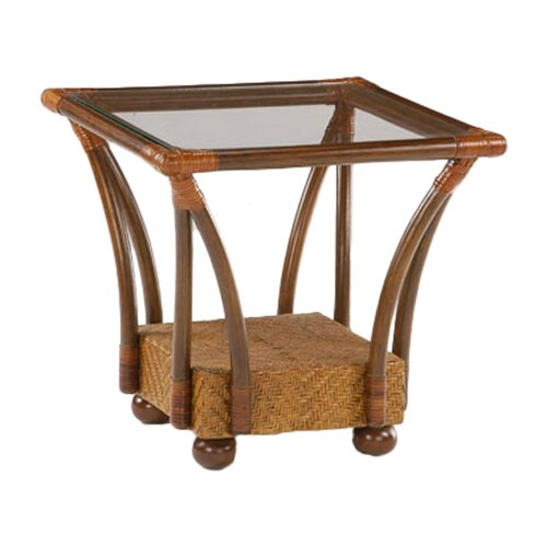 Floral Tulip End Table