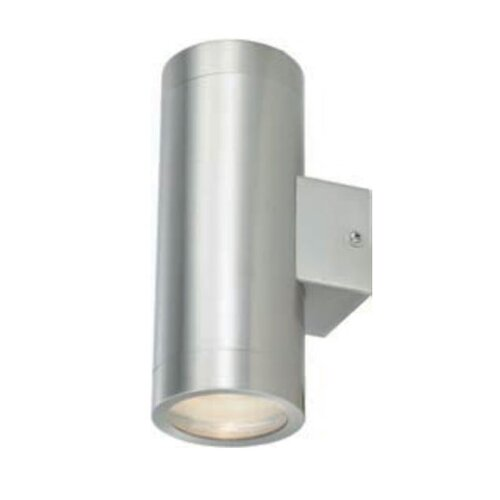 Ace Lighting Stainless Steel Up and Down Light Round