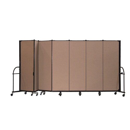 ScreenFlex Heavy Duty Seven Panel Portable Room Divider