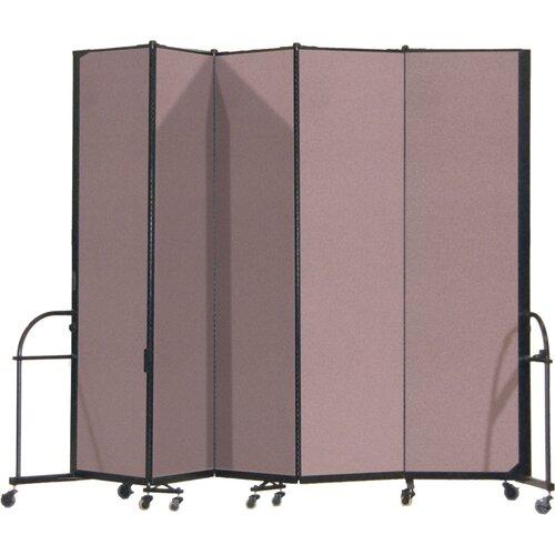 ScreenFlex Heavy Duty Five Panel Portable Room Divider